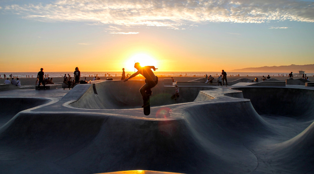 Venice Beach Skate Park | Los Angeles